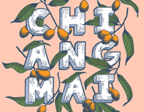 Chiang Mai | Hand Lettering & Illustration