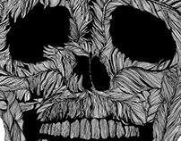Skull No.9 Pluma