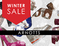 Arnotts Facebook Canvas Winter Sales