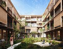 Co-Housing | Madrid | Spain