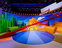 "Set Design - TV Show ""Ondertussen In Nederland"""