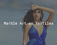 Marble Art on Textiles