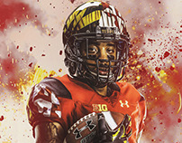 Maryland Football Posters
