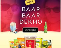Baar Baar Dekho Campaign for Grocermax.com
