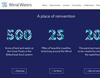 Wirral Waters website