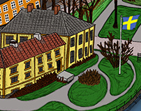 illustration   Åmål, 2015