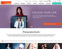 Magenta - Photographer - Fictive redesign concept