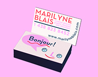 2016 New Identity for Marilyne Blais