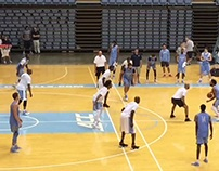 Luke Maye hits game-winner in alumni game