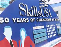 SkillsUSA Promotional Bulletin Board 2015