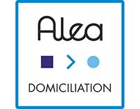Logo 'Alea Domiciliation'