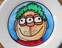 plates / bordjes