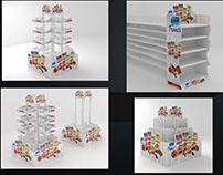 almarai treats retail displays
