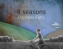4 seasons ODYSSEAS ELYTIS / Illustration