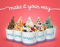 Yoggy's - frozen yogurt