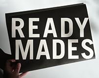 Readymades Exhibition Poster
