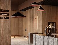 Business Center Hall Concept