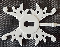SteamPunk Key & 3D Printing