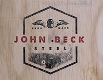 John Beck Steel Branding