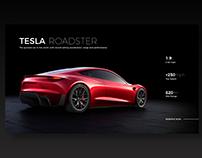 Tesla Roadster - Dark