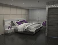 08/2015 Diseño Interior Hab. / Interior Design Rooms