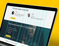 PRESTIZH - taxi company web-site design