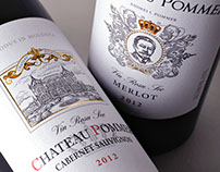 Wine design Chateau Pommer/Дизайн вина Chateau Pommer