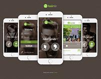 HairDo Swiss Hair Style App - UX / UI Design