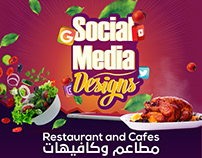 Restaurant and Cafe 2016 - 2018 | Social Media