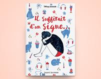 IL SUFFIRAIT D'UN SIGNE / couverture roman jeunesse