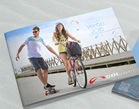 SOL Paragliders. Catálogo, poster tags, ícones