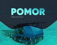POMOR — responsive onepage