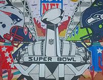 Super Bowl XLIX poster