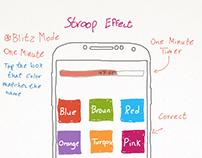 Stroop Effect - Game Design