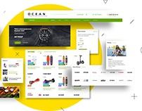 Ocean – Bitrix template e-commerce