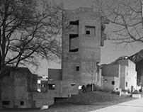 brutalist church