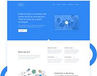 SUMMIT- Corporate Landing Page