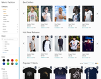 Ecommerce UI/UX Series Update Fashion Men - T-Shirts