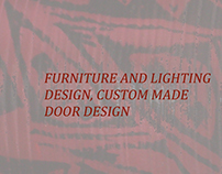 Furniture, Installations and Lighting Fixtures