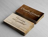 Cartão de Visita - Camila Sassaki