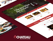 Website Wine tasting & Wine Bar / website / UI/UX