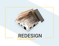 Roofing works, website design