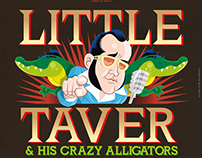LITTLE TAVER poster and t-shirts