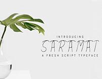 Saramat - Free Script Font