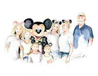 Portrait with Mickey