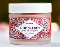 Mazzy's Rose Garden Exfoliating Clay