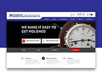 Progressive Polishes Wordpress Website Design