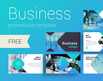 Business Clean presentation template