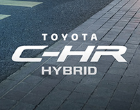 TOYOTA C-HR Print Ad.