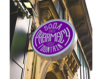 Soda Pharmacy Fountain - Branding